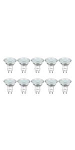 Lepro GU10 LED Bulbs, Daylight White 5000K