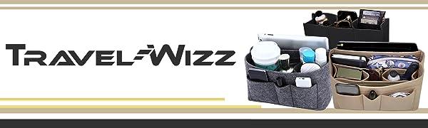 Purse Organizer Insert Tote Bag Handbag Speedy 35 LV Neverfull mm gm felt travel-wizz wsptbra brand