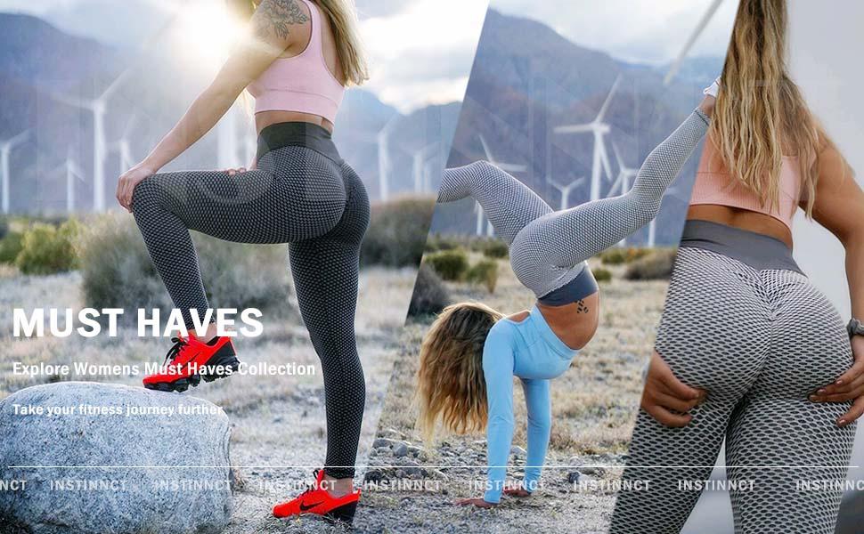 yoga running compression squat proof anti cellulite pants