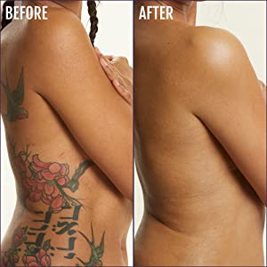 Firming Gel lifts, firms, and evens out the surface of your skin on contact cover tattoos body cover