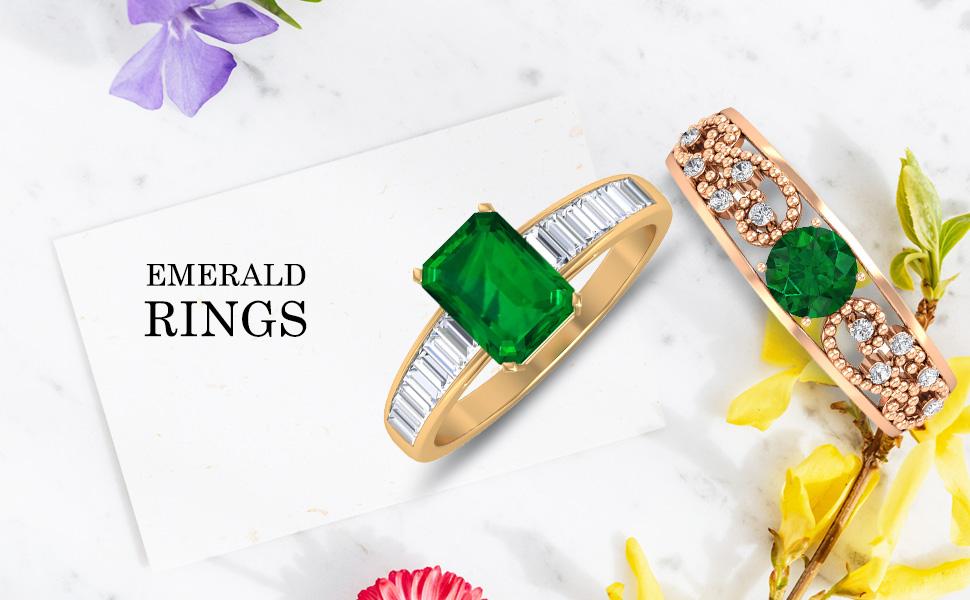 banner Emerald Rings