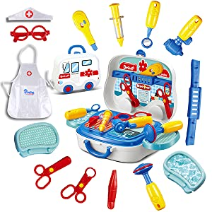 24 Pieces Doctor Kit