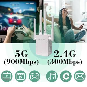 5G and 2.4G wifi extender, 5G WiFi Extender