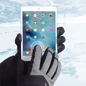 heated gloves touchscreen compatible