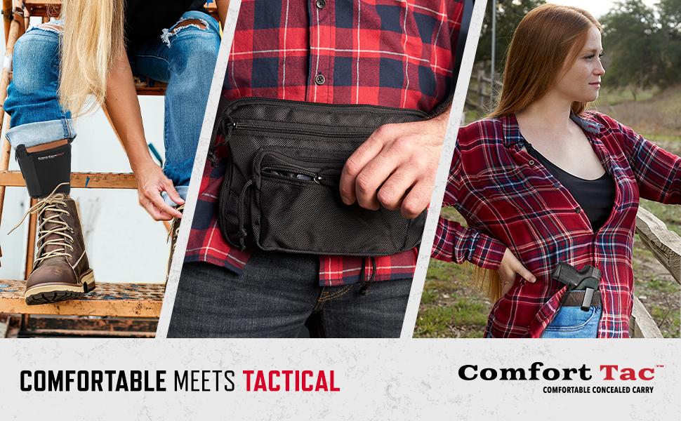 Comfortable meets tactical