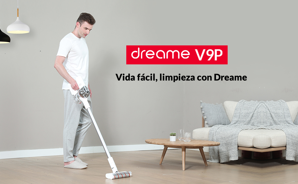 Dreame V9 Pro Aspirador Escoba, Aspirador sin Cable, Aspirador 4 ...