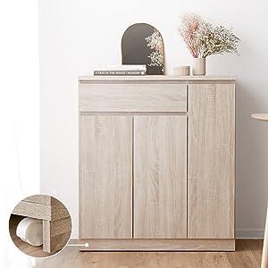 キッチン キッチンカウンター レンジ台 レンジボード 食器棚 レンジワゴン 木製 幅90 ワゴン キャスター 炊飯器 ガラス シエスタ おしゃれ ホワイト 白 ナチュラル ウォルナット オーク