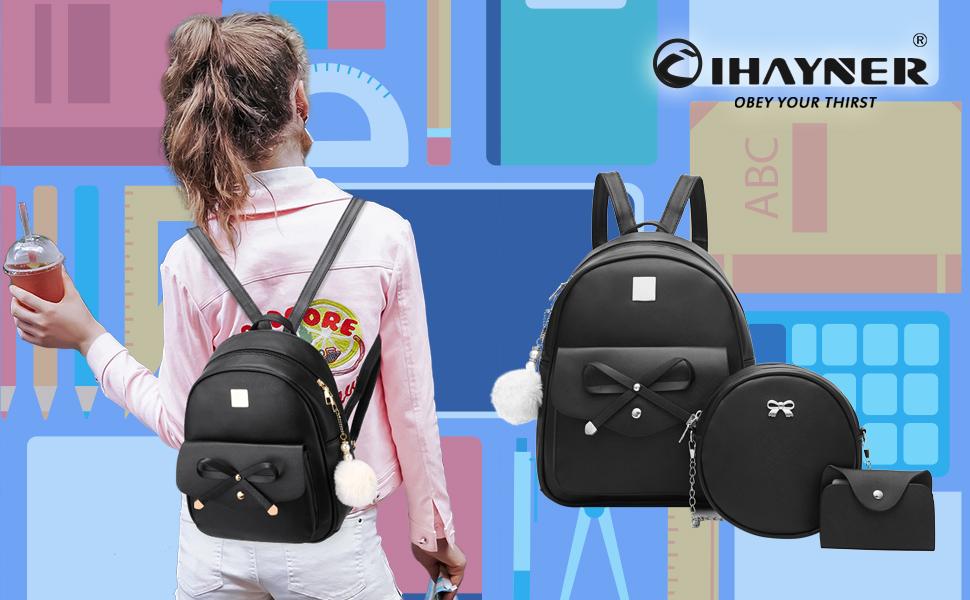 3 pcs backpack
