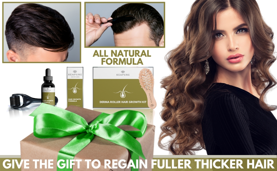 Perfect Gift for Thicker Fuller Hair