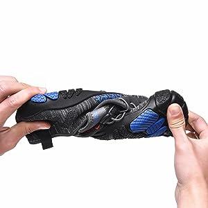 Barfußschuhe Herren Sport Schnell Trocknend Traillaufschuhe Damen Atmungsaktiv Unisex Zehenschuhe
