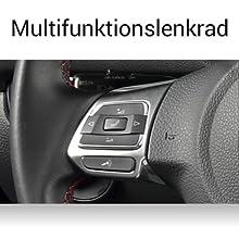ZENEC Z-E2055: unterstützt das Multifunnktionslenkrad von VW, SEAT, SKODA