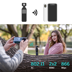 wireless preview & remote control