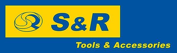 S&R S-R Tools Accessories Company Logo