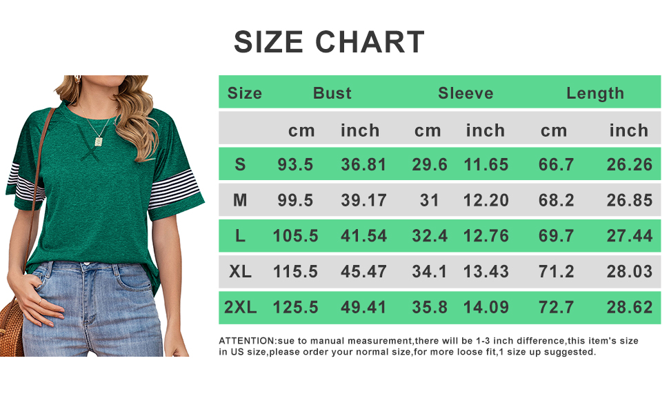 Womens Short Sleeve T Shirts Crewneck Color Block Workout Tee Casual Tunic Tops Athletic Tops