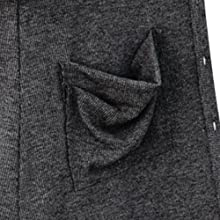 pockets at sides