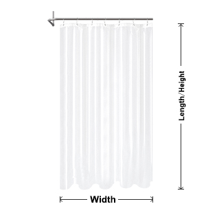 Hot Barossa Design Waterproof Fabric Stall Shower Curtain or Liner 36 inch Wide