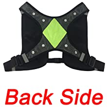 running vest with lights