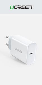 UGREEN Cable USB C a USB C Carga Rápida PD 20V 3A USB Tipo C Doble ...