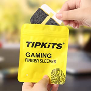 finger sleeves for gaming thumb sleeve mobile to play pubg gloves game touchscreen covers fortnite