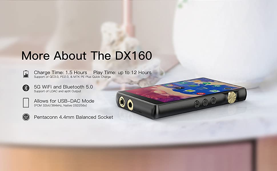 12-hour battery life with Quick Charge, 5G Wifi and Bluetooth 5.0