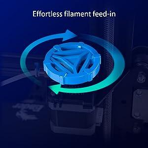 Effortless Filament Feed-in