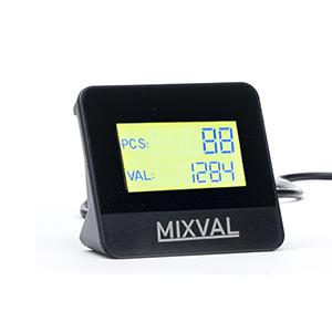 Mixval MV3 with Customer Screen and Optional Printer
