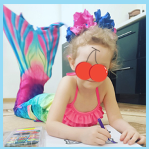 girls mermaid swimsuit