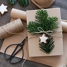 Jute lint touw koord knutselen kerstcadeaus verpakking bevestigen natuurlijk bruin