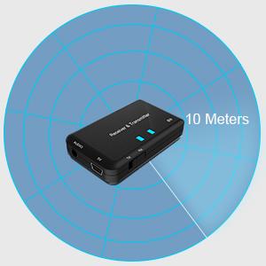 Long Wireless Streaming Range