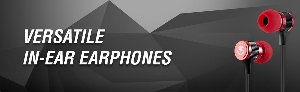Versatile In-Ear Earphones