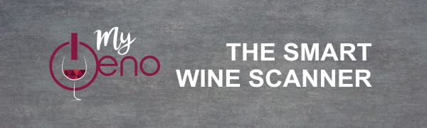 logo, myoeno, wine scanner, red wine