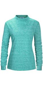Fleece Thermal Thumbholes Shirts