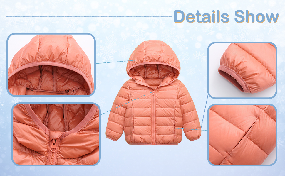 kids down coats