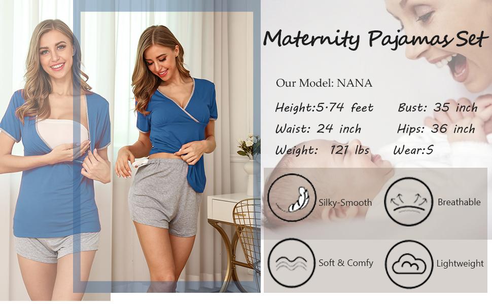 Maternity & Nursing Short Sleeve