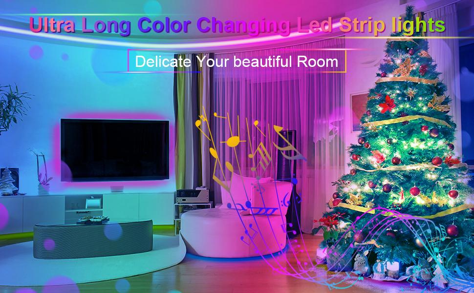 Ultra Long Color Changing Led Strip lights