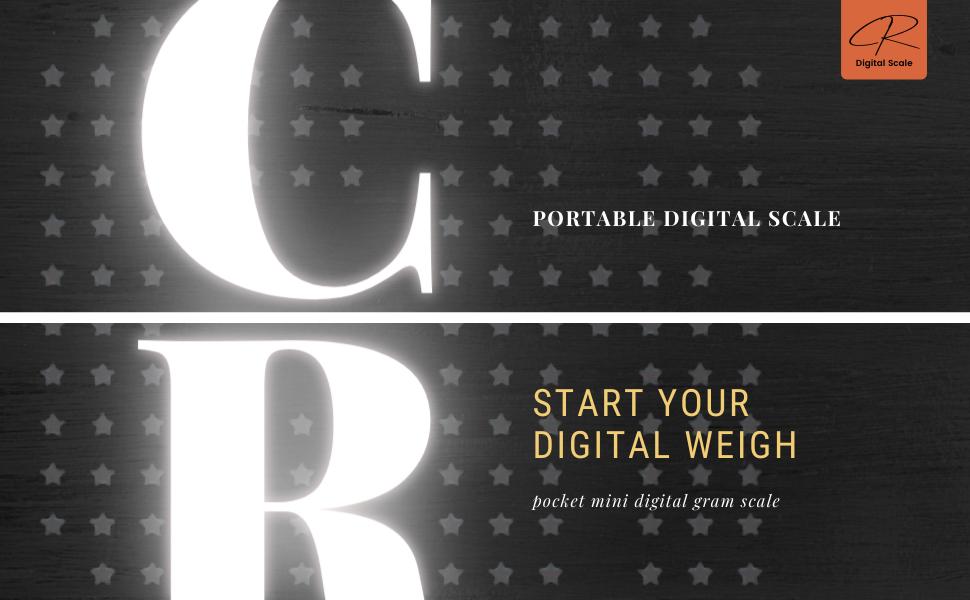 CR Digital Scale