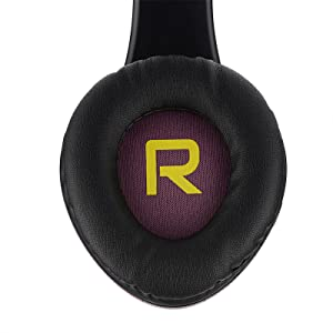 headphones with super soft earmuffs premium foam comfortable for long hours of use