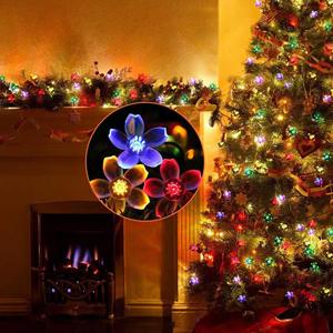 Christmas solar string light