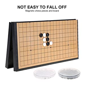 MAGNETIC COLLAPSIBLE CHESS BOARD