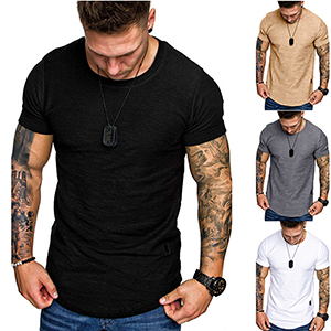 muscle shirts for men muscle fit t shirt men