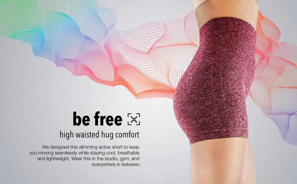 tummy control shorts workout shorts high rise seamless biker shorts, spandex shorts moyoga shorts
