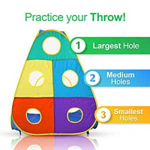 Ball throwing game
