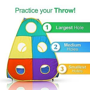 Ball throwing game