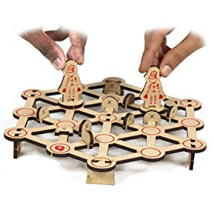 Strategy Board Game for kids Boys India made Smart Puzzle Toys Family GamesGirls