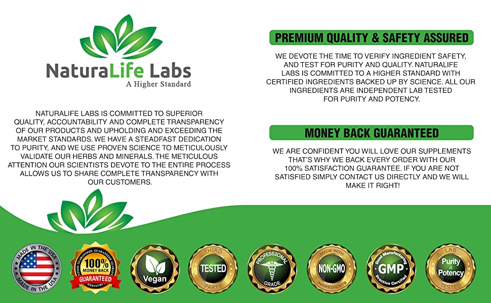 NaturaLife Labs a higher standard