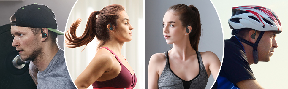 HolyHigh A3S Premium ANC Bluetooth Man with Headphone Sunset