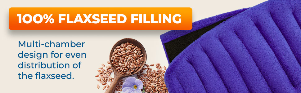 100% Flaxseed Filling