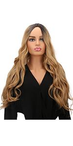 WOWTOY 14inch perruque courte pour femmes perruques Cosplay Courte de haute qualit/é synth/étiques blond