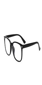 matte black blue light blocking glasses