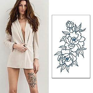 Semi-Permanent Tattoo Sticker Women